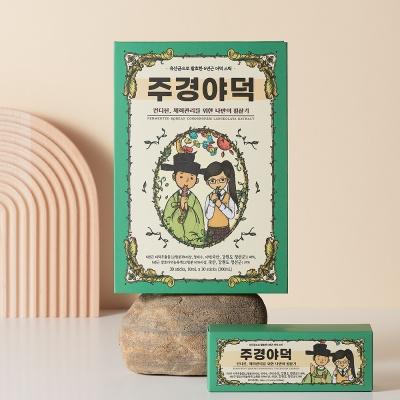 [주경야덕] 유산균발효더덕 컨디션 영양제