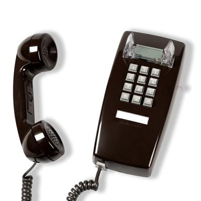 [코텔코] 코텔코 빈티지 벽걸이 유선전화기 브라운