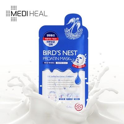 [메디힐]  결광 제비집 프로아틴 마스크팩 1매 / 수분가득 단백질 마스크