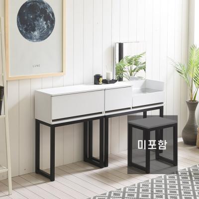 조엔 시즌4 스틸 서랍화장대+600보조장세트