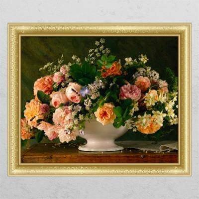 cl421-그림같은장미꽃_창문그림액자