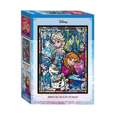 디즈니 글라스아트 겨울왕국 300피스 직소퍼즐