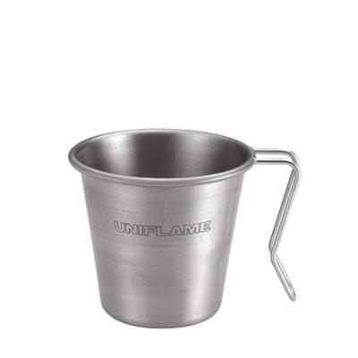 [유니프레임] 스태킹 머그 티타늄 350ml 캠핑 컵
