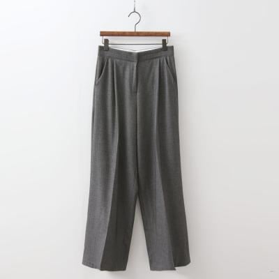 Herringbone Wide Pants