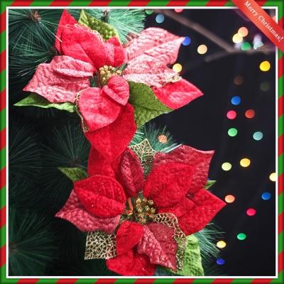 2p 크리스마스 포인세티아(레드) (大) (21cmx23cm)