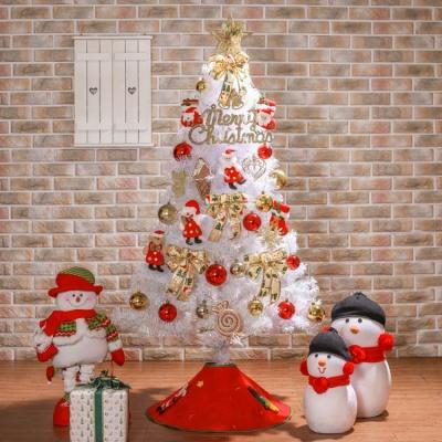 산타나라 150cm 산타선물 화이트트리 풀세트 0356-646