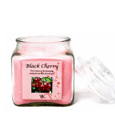 [아로마캔들] 아로마 사각 자캔들 - 블랙 체리 Black Cherry 250g