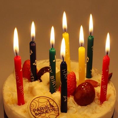 생일막대초-칼라