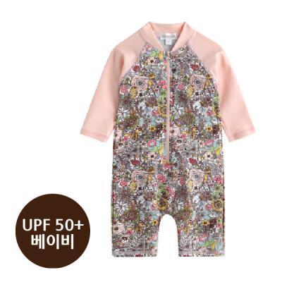 [베이비수영복] 블리플라워수영복 영유아수영복 수트수영복