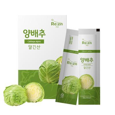 데이웰즈 양배추즙 리즌 양배추 알긴산 젤리스틱