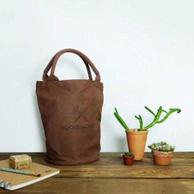 Tote bag Barrel Shaped Bag(캔버스가방)