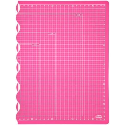 [나카바야시] 접이식커팅매트A3 핑크 [개/1] 383283