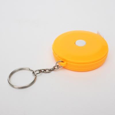 비비 열쇠고리 미니줄자(1.5M) (오렌지)