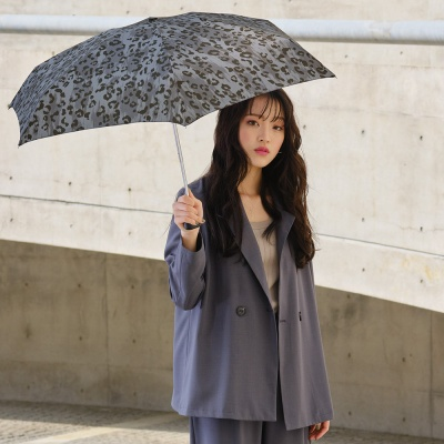 wpc우산 레오파드 미니 5단 양산 겸 우산 1959-181