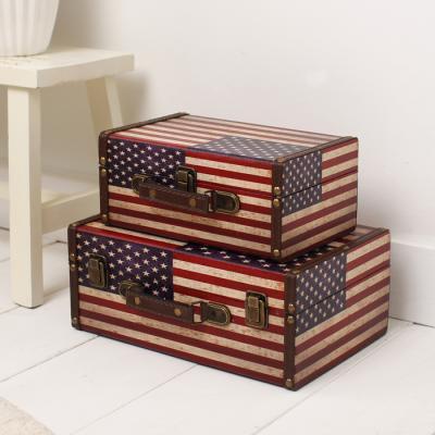미국 가방 보관함 2Pset
