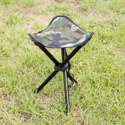 (와인앤쿡)실속형야외용 접이식 삼각발 레저의자1개(중)