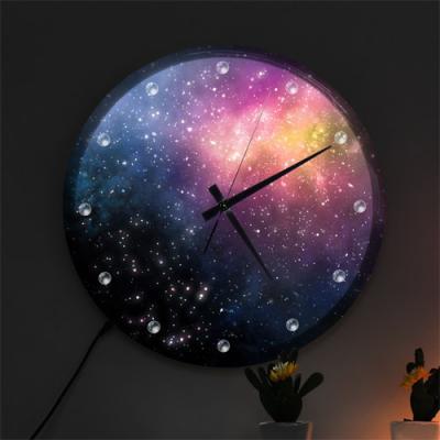 nf470-LED시계액자35R_신비로운우주