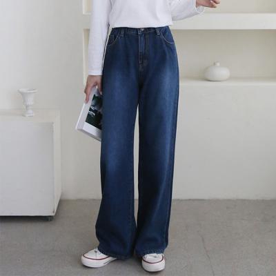 Dark Super Wide Jeans