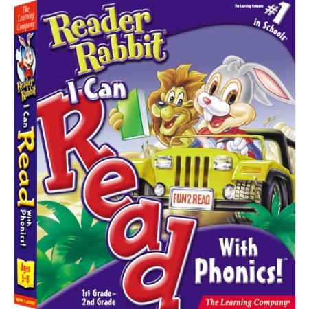 [CD-ROM] 리더래빗 I Can Read With Phonics - 파닉스 학습 2단계