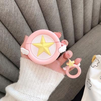 에어팟 3세대 천사별 젤리케이스 키링 152연핑크_프로