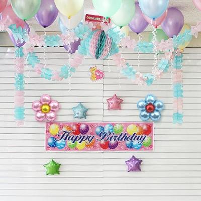 홈파티 생일 풍선세트-11
