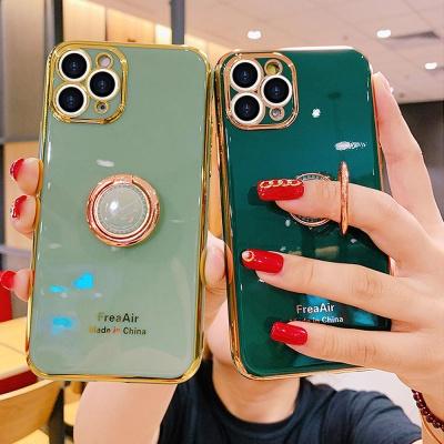 아이폰 12 pro max 미니 그립톡 글리터 풀커버 케이스