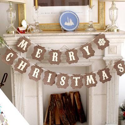 럭셔리 MERRY CHRISTMAS 가랜드