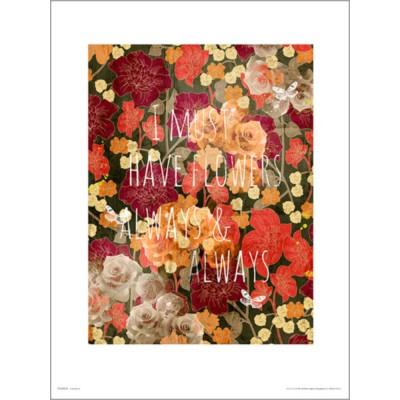 PDH01361 Flowers Always (40x50cm)