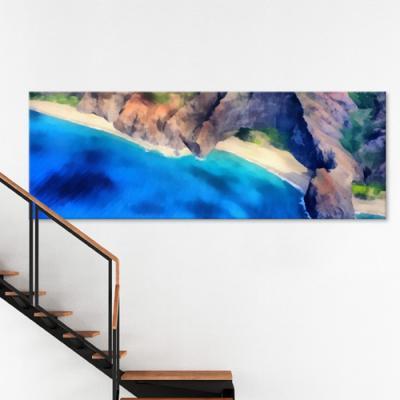 ct747-하와이의바다섬_대형노프레임