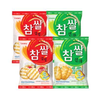 크라운 참쌀 선과 설병 2+2