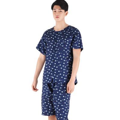 테라우드 커플잠옷 남성용 풍기인견 상하 하트글래시