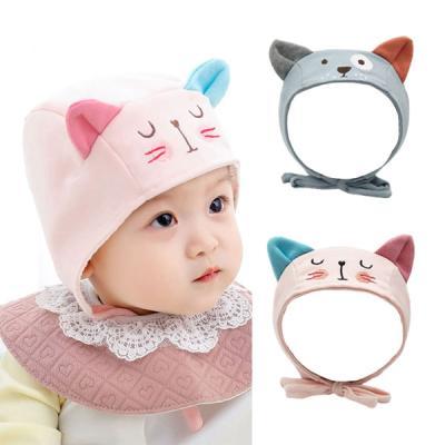 바둑이 고양이 쫑긋 유아 모자(원사이즈) 204215