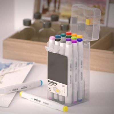 24색 팬톤 마카 페브릭 마커 패브릭 가방 패브릭펜