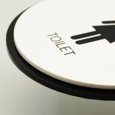 화장실표지판 화장실표시 화장실문구 표찰 underground