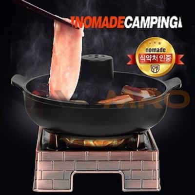 캠핑 낚시용품 전골냄비 신선로 화로대풀세트 샤브