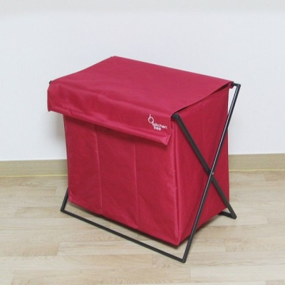 시앵 3구다용도바스켓(16017) 레드 세탁물보관함 분리