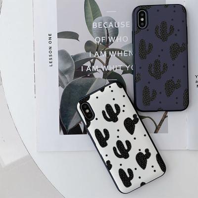 아이폰8플러스 써니 선인장들 카드케이스