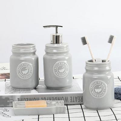 욕실 디스펜서 3종 세트(색상랜덤)