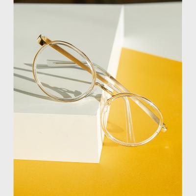 shine 투명 동그란 뿔테 안경 뿔테 패션안경 안경테
