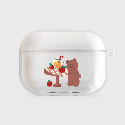 gummy apple juice [airpods pro clearcase]