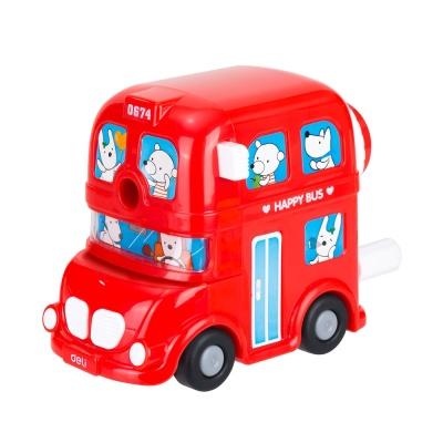 DELI 이층버스 연필깍이 (E0674)