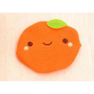 핫팩케이스 핫팩주머니 오렌지 캐릭터 온열 생활용품