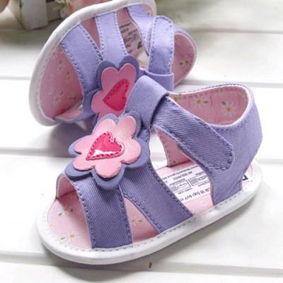 바이올렛 꽃 샌들 보행기화 200818 (6-18개월)