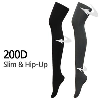 200D 슬림앤힙업 기능성 착압스타킹