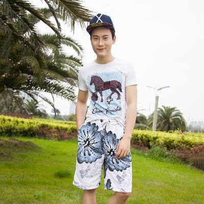 (와인앤쿡)실속형플라워 beach wear (남성용)1P
