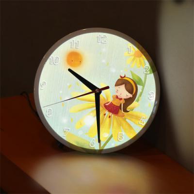 ng142-LED시계액자25R_소녀의꿈속여행B