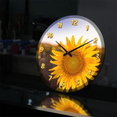 ng556-LED시계액자35R_풍수에좋은해바라기