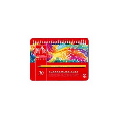 까렌다쉬 수채용-수프라컬러 30색 메탈박스 3888.330