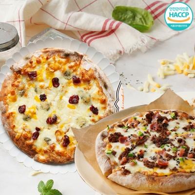 화덕에 구워낸 바베큐 불고기피자+ 고르곤베리 피자