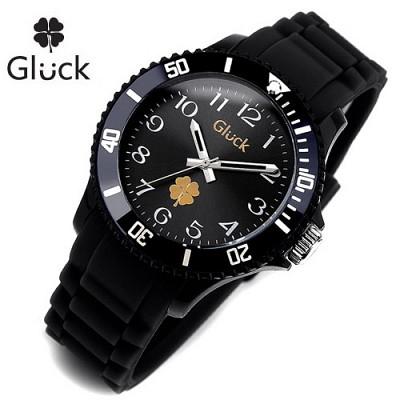 [Gluck]글륵 행운의 시계 GL1307-ARBK 본사정품 남여공용